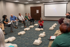 Mass AED/ CPR Awareness Training